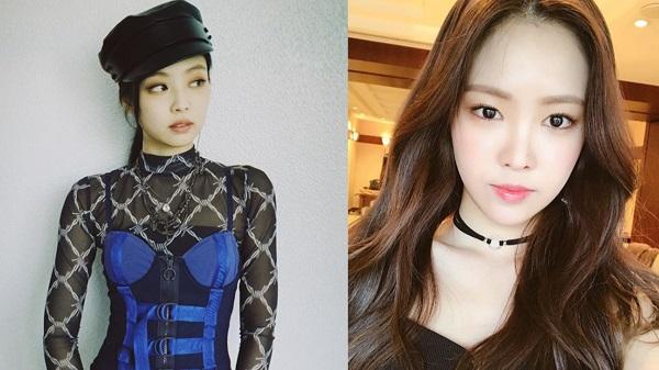 """[★매력 한뼘] """"군살, 1도 없어"""" 에이핑크 손나은vs블랙핑크 제니 '몸매퀸' 대결 [영상]"""
