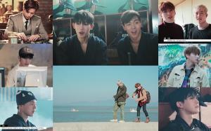 몬스타엑스(MONSTA X), '드라마라마' MV 메이킹 공개…시간 여행의 비밀 밝혀지나