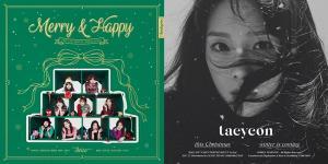 [NI뮤직차트] 트와이스 '하트쉐이커'(Heart Shaker)-태연 'This Christmas' 1위 각축